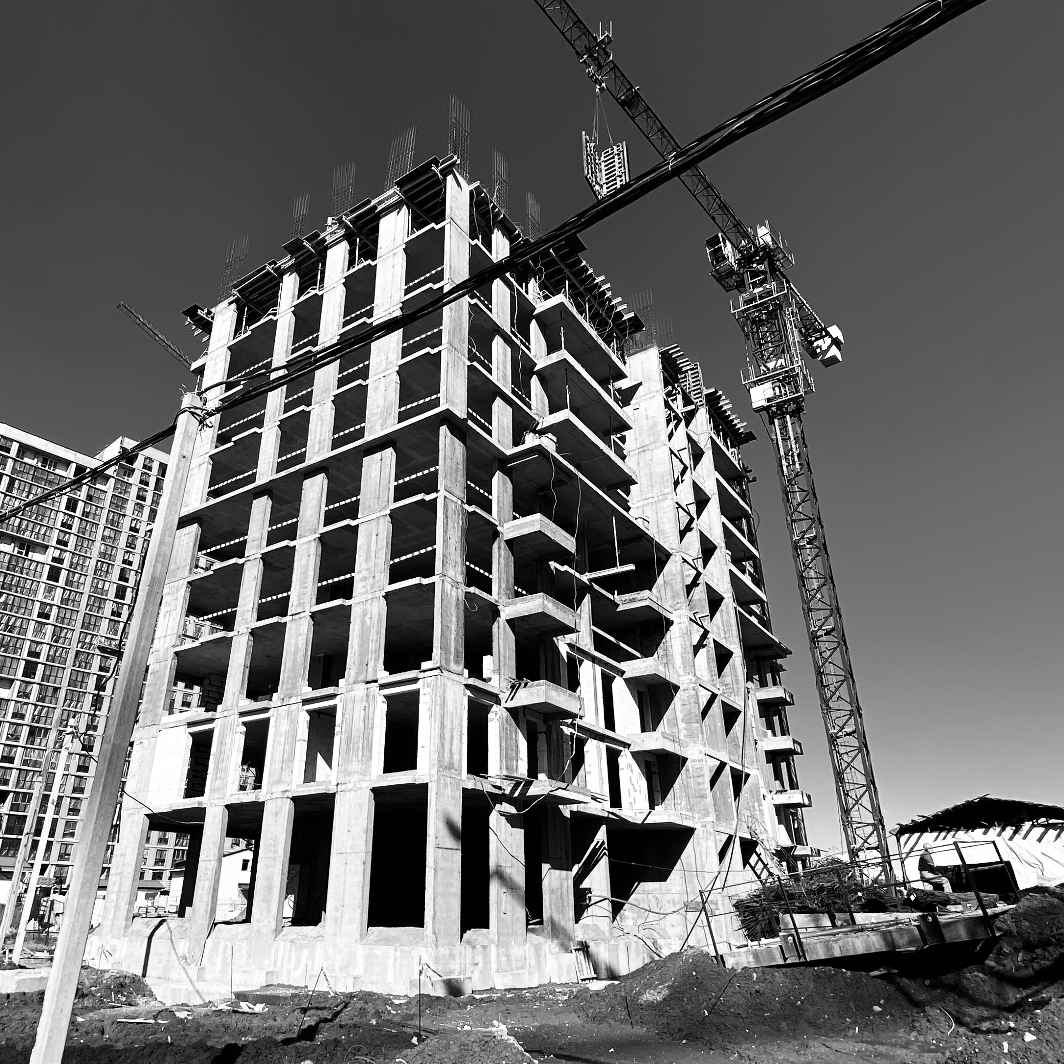 """Building """"Salt Lake City"""" in the """"Minsk World"""" multifaceted residential complex"""