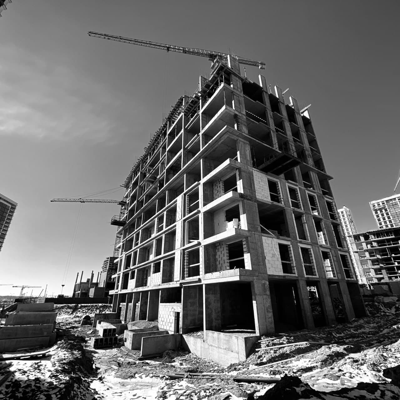 """Building """"Lillehammer"""" in the """"Minsk World"""" multifaceted residential complex"""